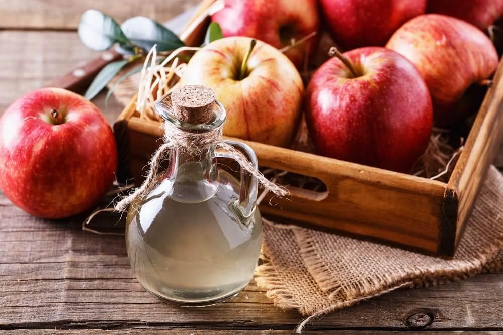 jablčný ocot na pokožku
