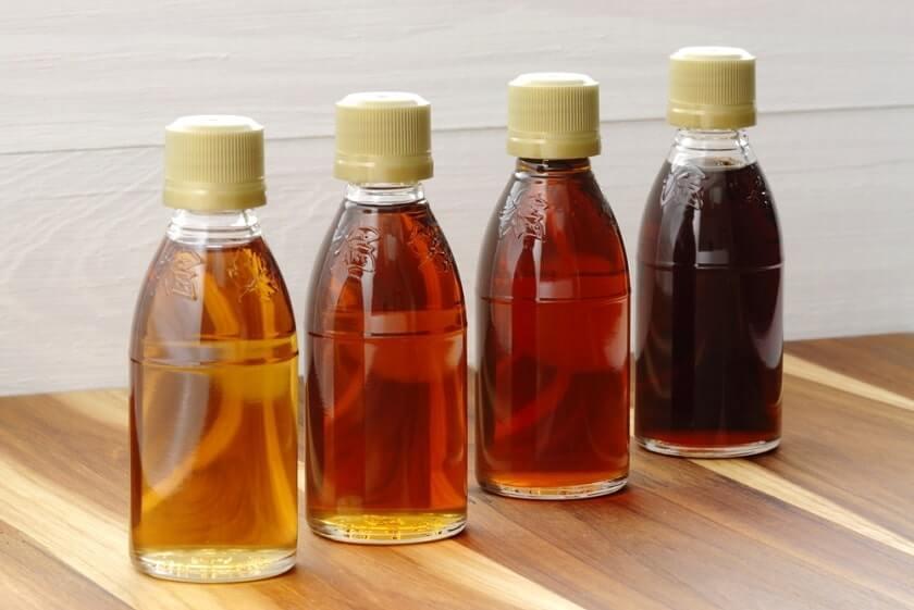 javorový sirup výroba