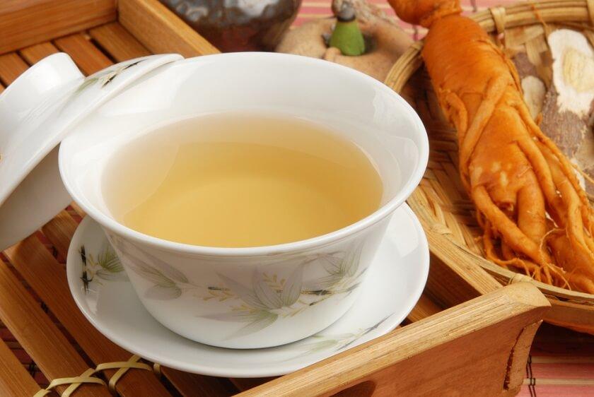 ženšen čaj