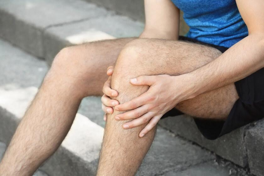 svalové kŕče v stehnách