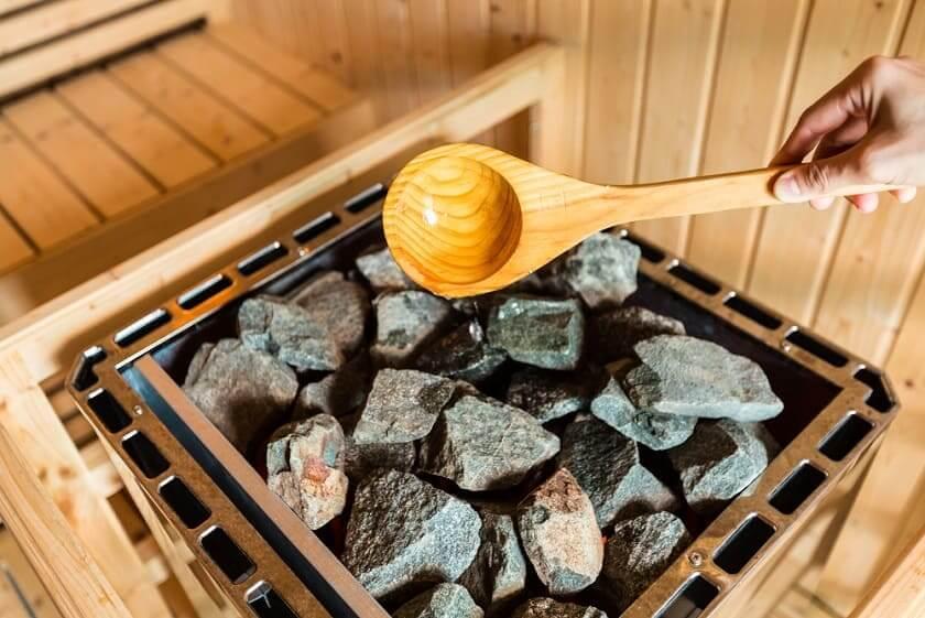 sauna optimálna ideálna teplota