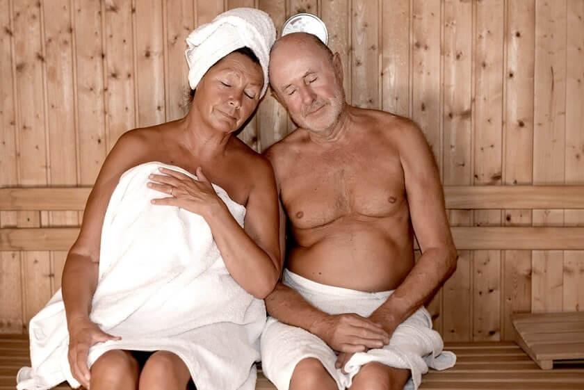 sauna prehriatie organizmu