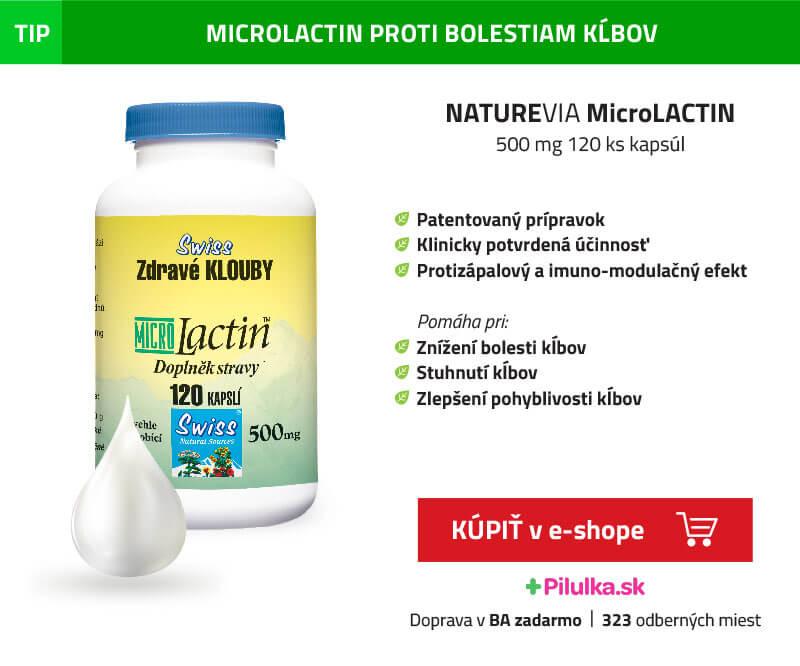 microlactin- výživa- pre kĺby