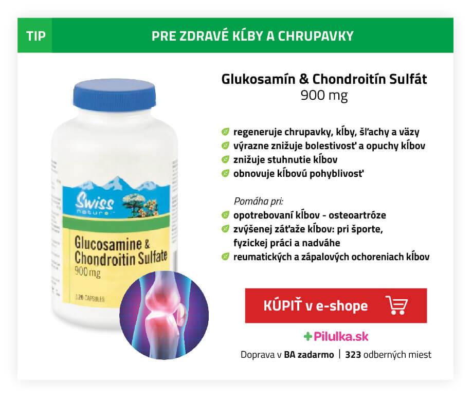 glukosamín chondroitín pre kĺby