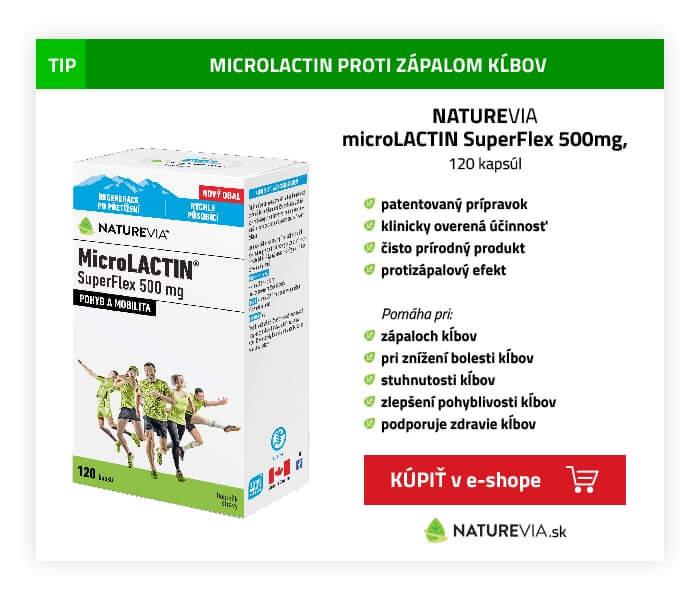 microlactin proti zápalovým kĺbom
