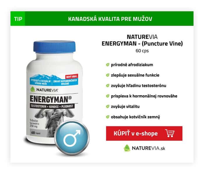 NATUREVIA ENERGYMAN Puncture Vine 60 cps
