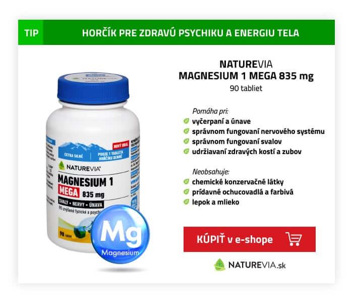 NATUREVIA MAGNESIUM 1 MEGA 835 mg 90 tbl