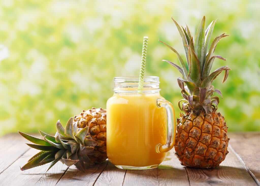 ananás bromelain