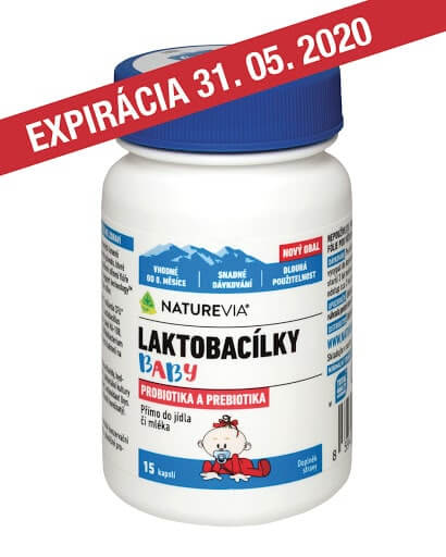 NATUREVIA LAKTOBACILKY BABY / 15 cps
