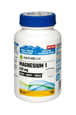 NATUREVIA MAGNESIUM OXIDE 420 mg / 90 tbl