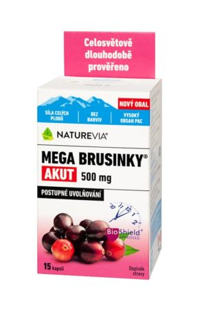 NATUREVIA MEGA BRUSNICE AKUT 500mg / 15cps