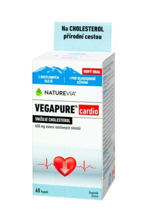 NATUREVIA VEGAPURE cardio 650 mg / 60cps