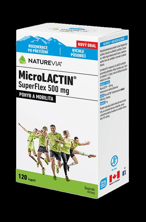 NATUREVIA MicroLACTIN SuperFlex 500mg / 120 cps