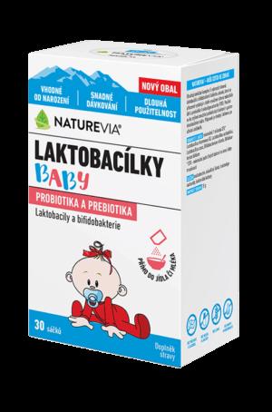 NATUREVIA LAKTOBACILKY BABY vrecúška (30 vrecúšok)